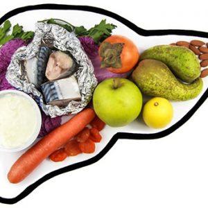 رژیم غذایی بیماران کبدی